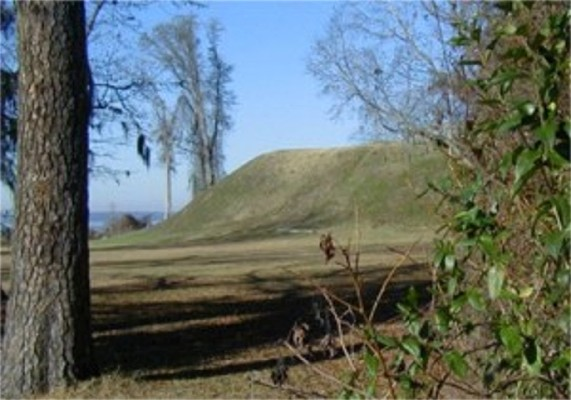 Francis Marion was here; Santee Indian Mound/ Fort Watson/Santee Wildlife Refuge